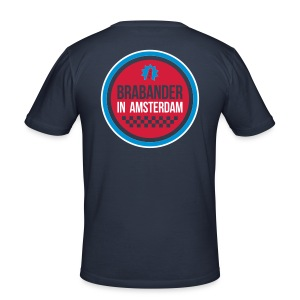 Cool Brabander in Amsterdam shirt! Heren - slim fit T-shirt