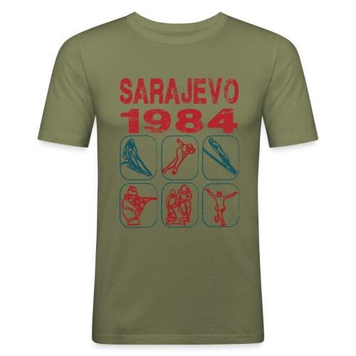 Sarajevo - Men's Slim Fit T-Shirt