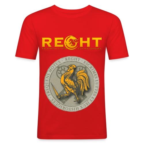 T-Shirt REGHT Coq Homme - T-shirt près du corps Homme