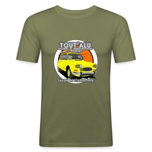AMI 8 TOUT'ALU - T-shirt près du corps Homme