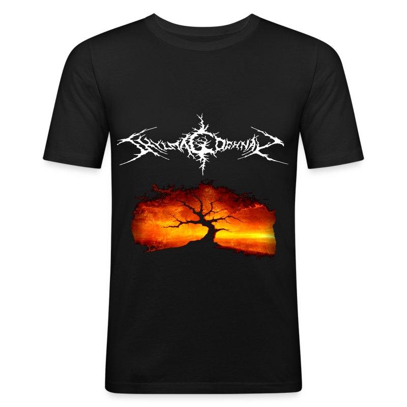 Men's Slim Fit T-Shirt (FRONT ONLY)  - Men's Slim Fit T-Shirt