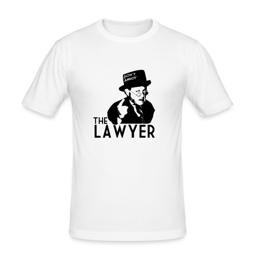 Angry Lawyer - Men's Slim Fit T-Shirt