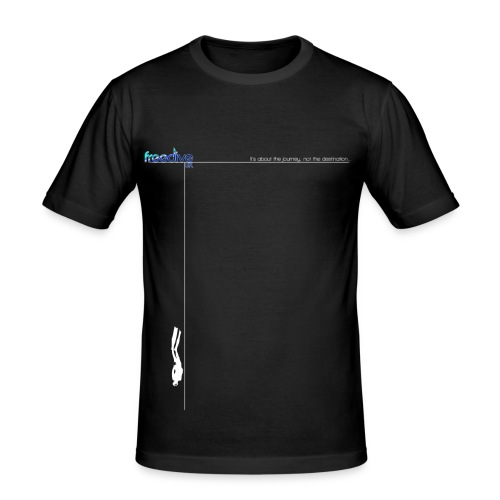 The journey - Men's Slim Fit T-Shirt
