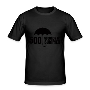 500 Seconds of Summer - Men's Slim Fit T-Shirt