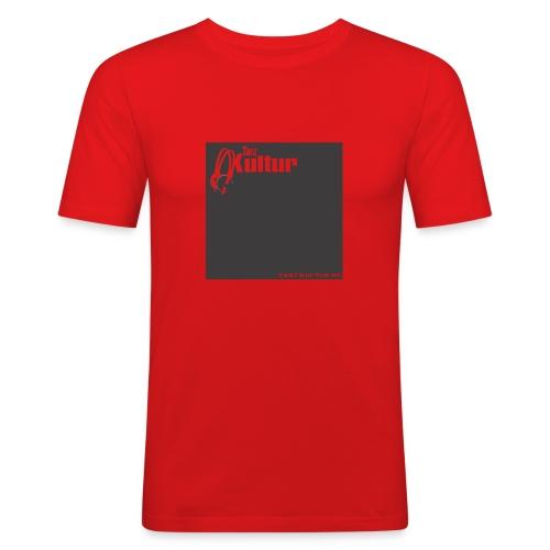 Tanz-Kultur Audio (Slim-Fit T-Shirt) Dark - Männer Slim Fit T-Shirt
