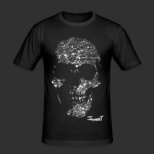 Men's Skull T-Shirt - Men's Slim Fit T-Shirt