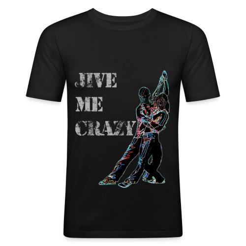 Jive Me Crazy - Electric Scorpion - Men's Slim Fit T-Shirt