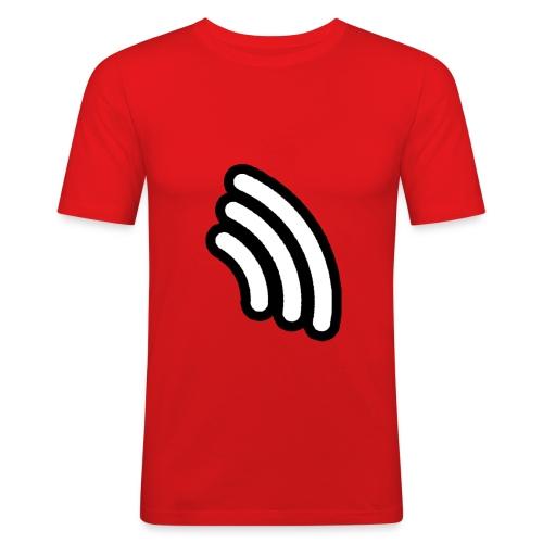 Afterbeat geel tshirt mannen - slim fit T-shirt
