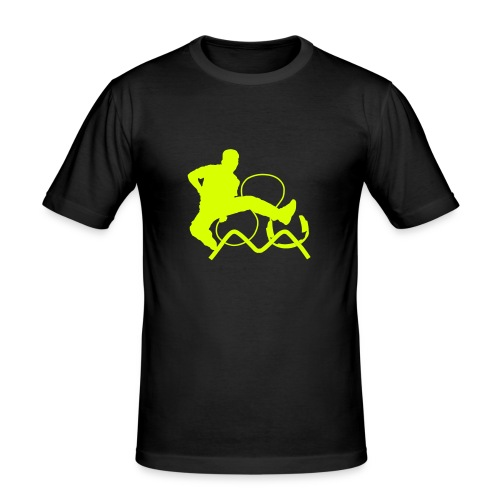 Hauki@SMS - Männer Slim Fit T-Shirt