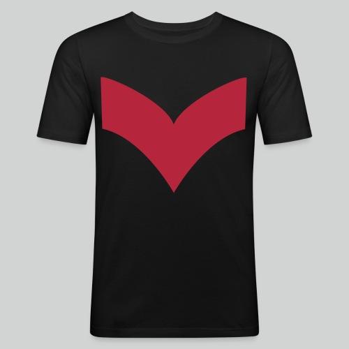 Retrolaser - T-shirt près du corps Homme