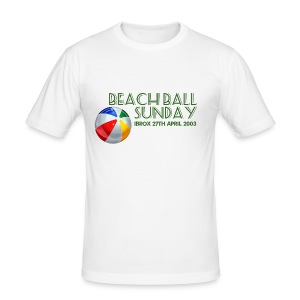 Beachball Sunday - Men's Slim Fit T-Shirt
