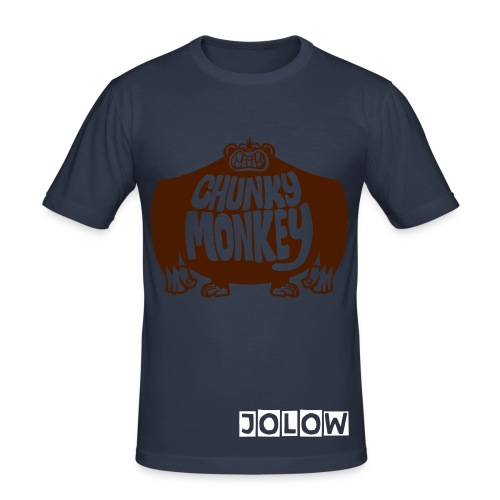JOLOW Chunky Monkey Tee - Men's Slim Fit T-Shirt