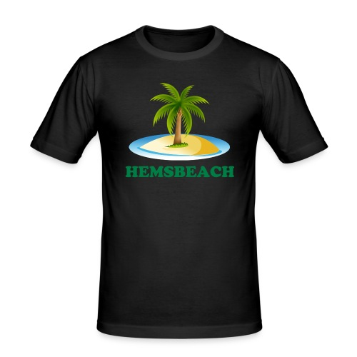 Hemsbeach - Männer Slim Fit T-Shirt