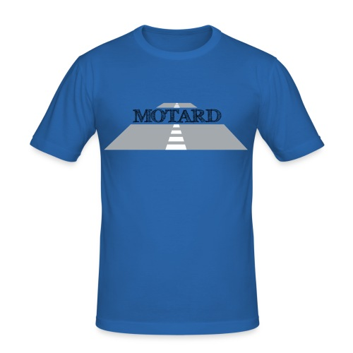 Motard street Moto - Maglietta aderente da uomo