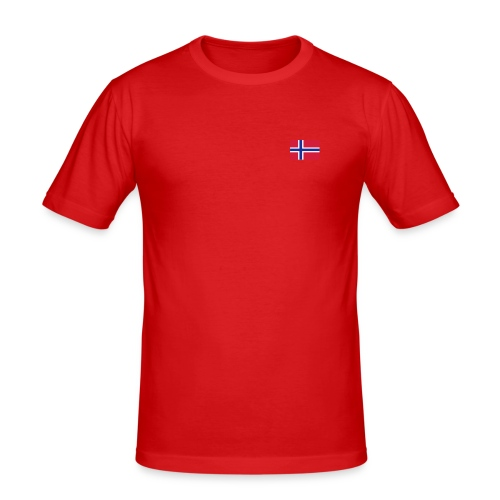 Slim Fit T-skjorte for menn - Norge