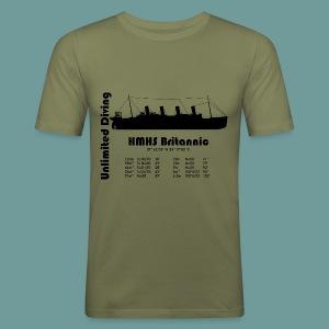 TS Britannic 2 - Tee shirt près du corps Homme