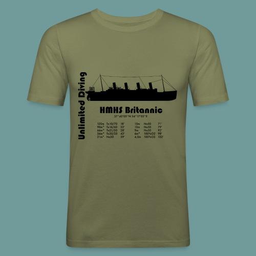 TS Britannic 2 - T-shirt près du corps Homme