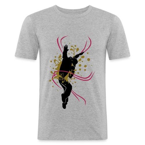 T-shirt Breakdance Danseur Homme - T-shirt près du corps Homme