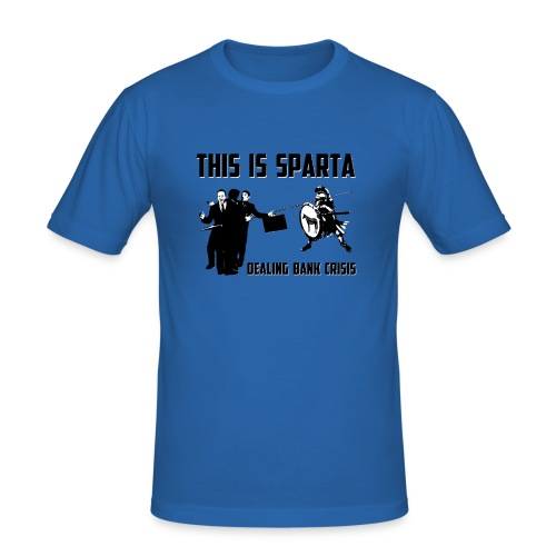 MIC-HELL THIS IS SPARTA - Männer Slim Fit T-Shirt