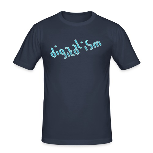 digitalism - Männer Slim Fit T-Shirt