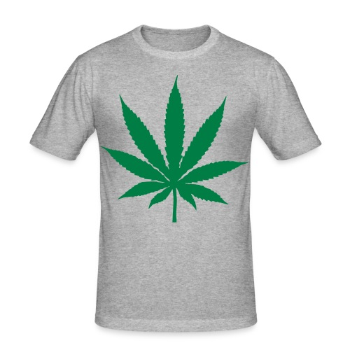 weed - Men's Slim Fit T-Shirt
