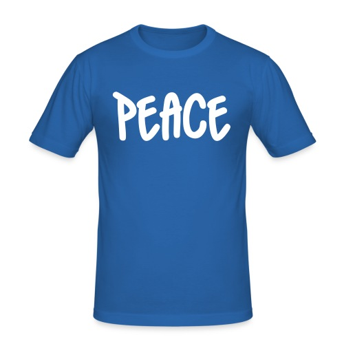 peace - Men's Slim Fit T-Shirt