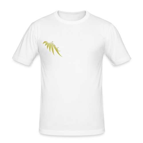I am an Angel  logo Or Droit - T-shirt près du corps Homme