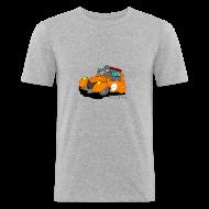 Tee shirts ~ Tee shirt près du corps Homme ~ 2cv ORANGE
