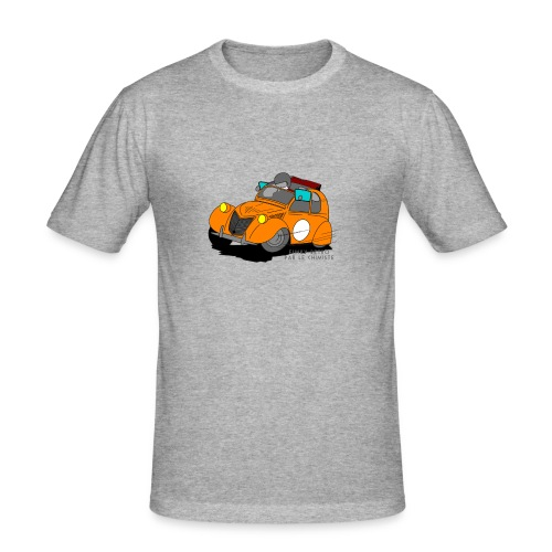 2cv ORANGE - T-shirt près du corps Homme