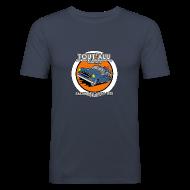 Tee shirts ~ Tee shirt près du corps Homme ~ 403 TOUT'ALU BLEUE