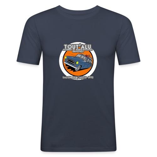403 TOUT'ALU BLEUE - T-shirt près du corps Homme
