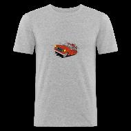 Tee shirts ~ Tee shirt près du corps Homme ~ 403 BREAK ROUGE