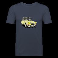 Tee shirts ~ Tee shirt près du corps Homme ~ AMI 8 BEIGE