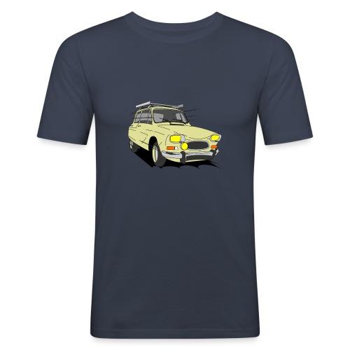 AMI 8 BEIGE - T-shirt près du corps Homme