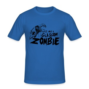 Glasgow Zombie - Men's Slim Fit T-Shirt