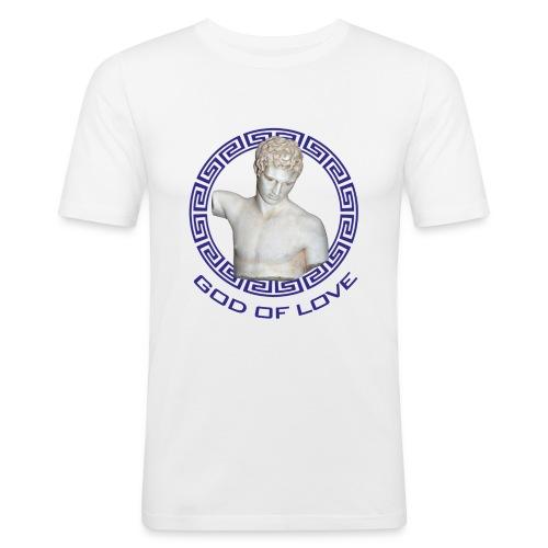 Liebesgott2 - Männer Slim Fit T-Shirt