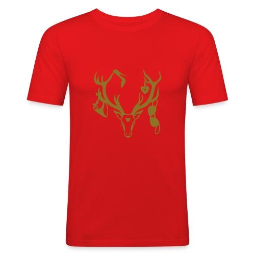 Jäger - Männer Slim Fit T-Shirt