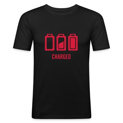 Charged - Camiseta ajustada hombre