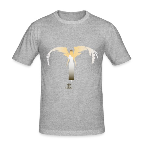 Baroque 'Lone Angel' SHADED - Standard Fit - Men's Slim Fit T-Shirt