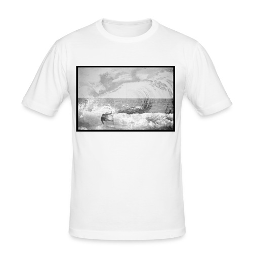 The Wave - T-shirt près du corps Homme
