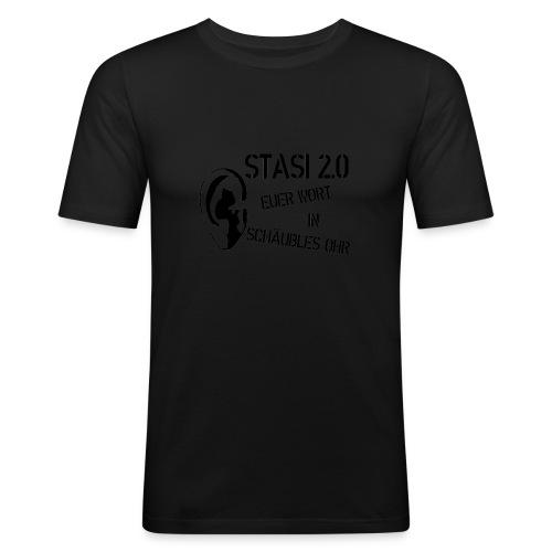 Stasi - Männer Slim Fit T-Shirt
