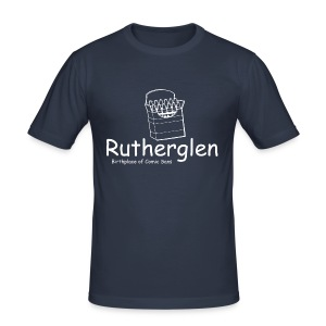 Rutherglen Comic Sans - Men's Slim Fit T-Shirt