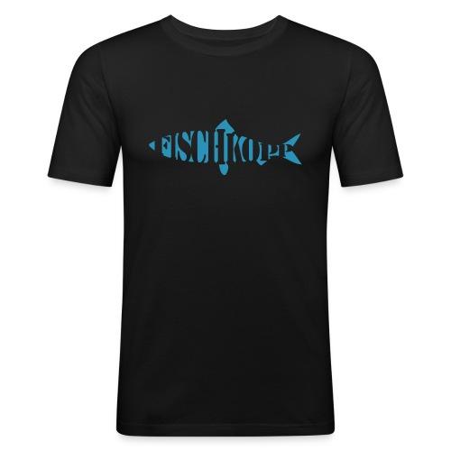 Fischkopp T-Shirt - Männer Slim Fit T-Shirt