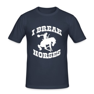 I Break Horses - Men's Slim Fit T-Shirt