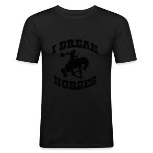 I Break Horses - Men's Slim Fit T-Shirt