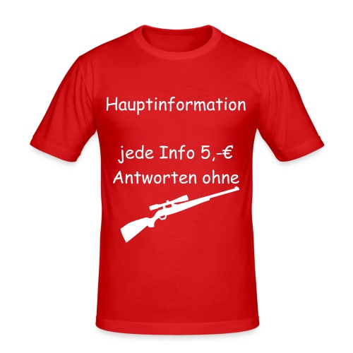 Hauptinformation - Männer Slim Fit T-Shirt