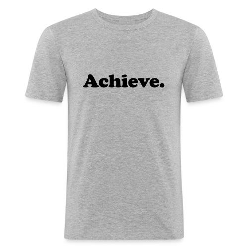 Achieve - T-shirt près du corps Homme