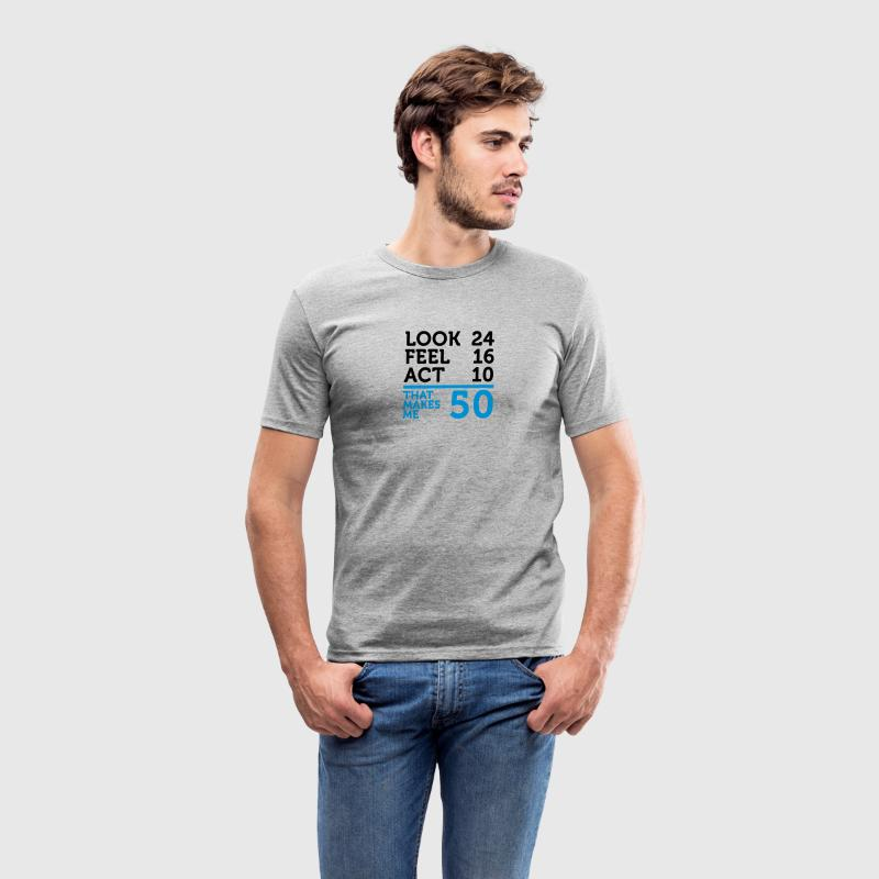 Look Feel Act 50 (2c)++ T-shirts - Slim Fit T-shirt herr