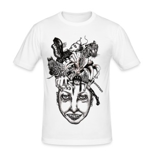 Journey to the centre of my mind 2 - Men's Slim Fit T-Shirt