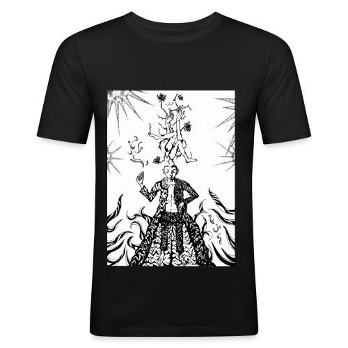 Sun  - Men's Slim Fit T-Shirt